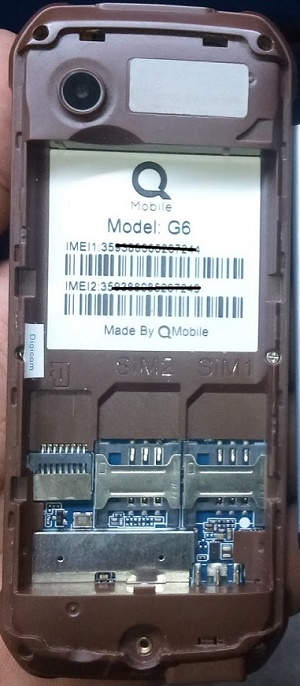 Qmobile G6 6531E 2020 flash file free
