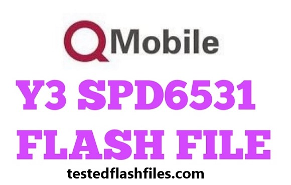 Qmobile Y3 spd 6531 flash file free