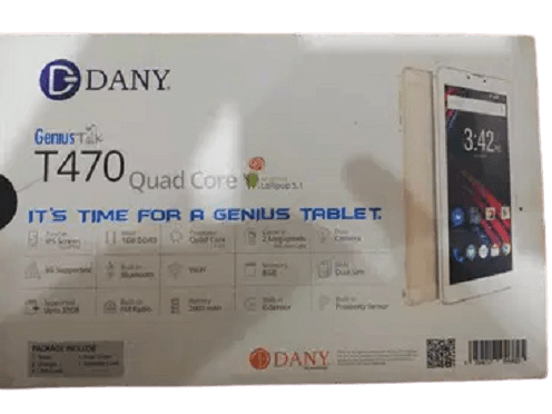 Dany Genius Tab T470 MT6735 Flash file free