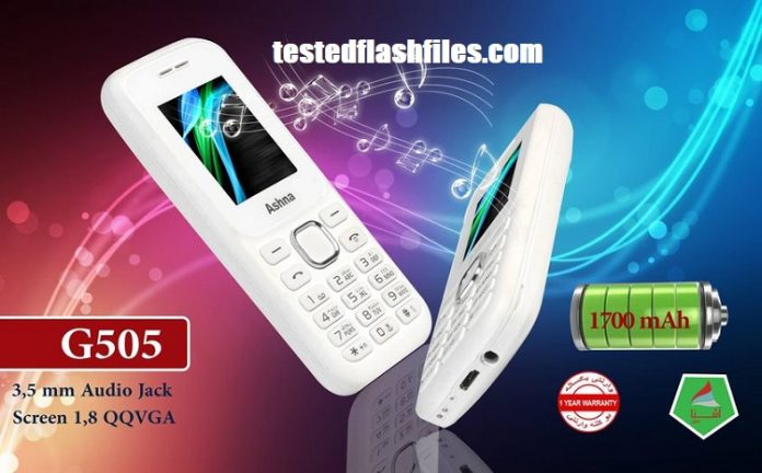 Ashna G505 SPD6531A Flash file free
