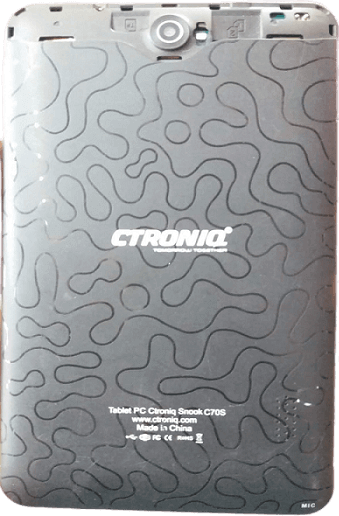 Ctroniq snook C70Gi MT6572 Firmware Free