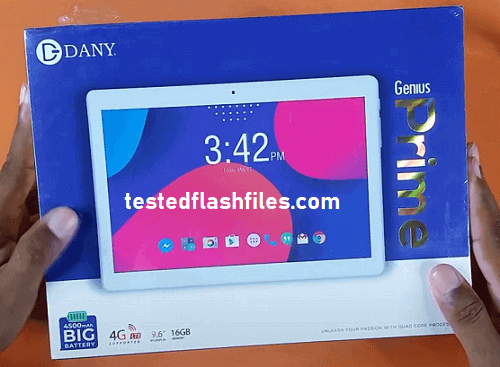 Dany Tab Champ 4 RK3026 Firmware free