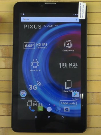 Pixus Touch 7 3G MT6580 Firmware update free